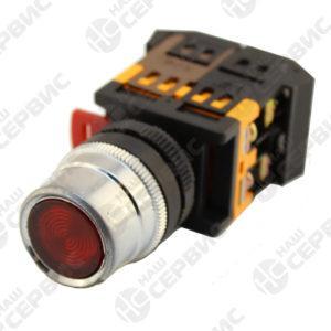 Кнопка ABLF-22 красный d=22мм