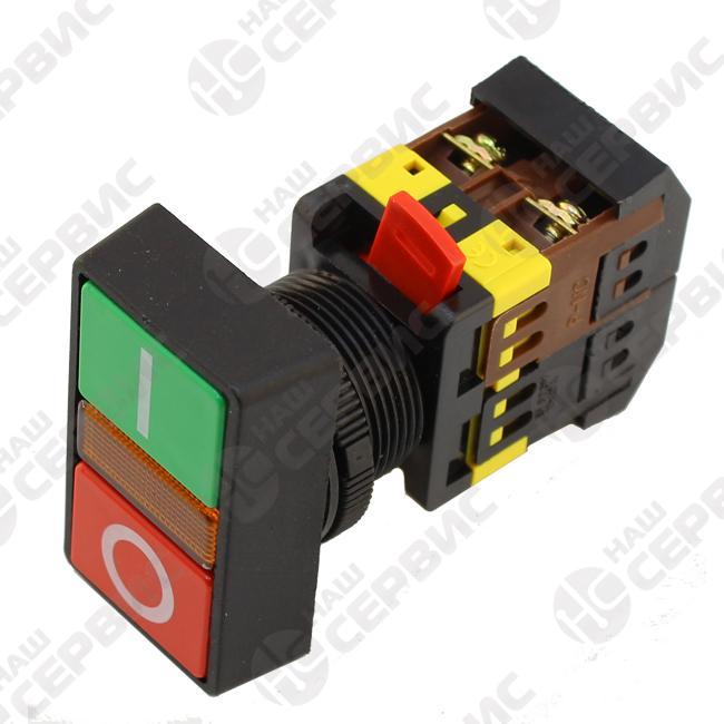 Кнопка PPBB-30N «Пуск-Стоп» d 30 мм