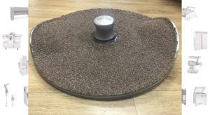 восстановление абразивного диска картофелечистки